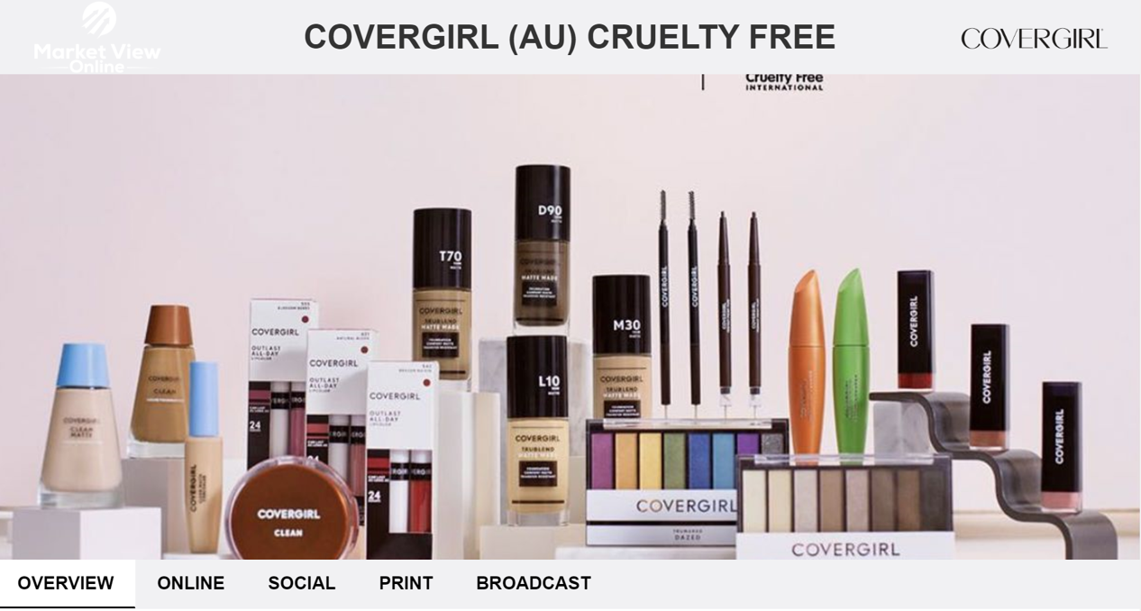 COVERGIRL (AU) CRUELTY FREE