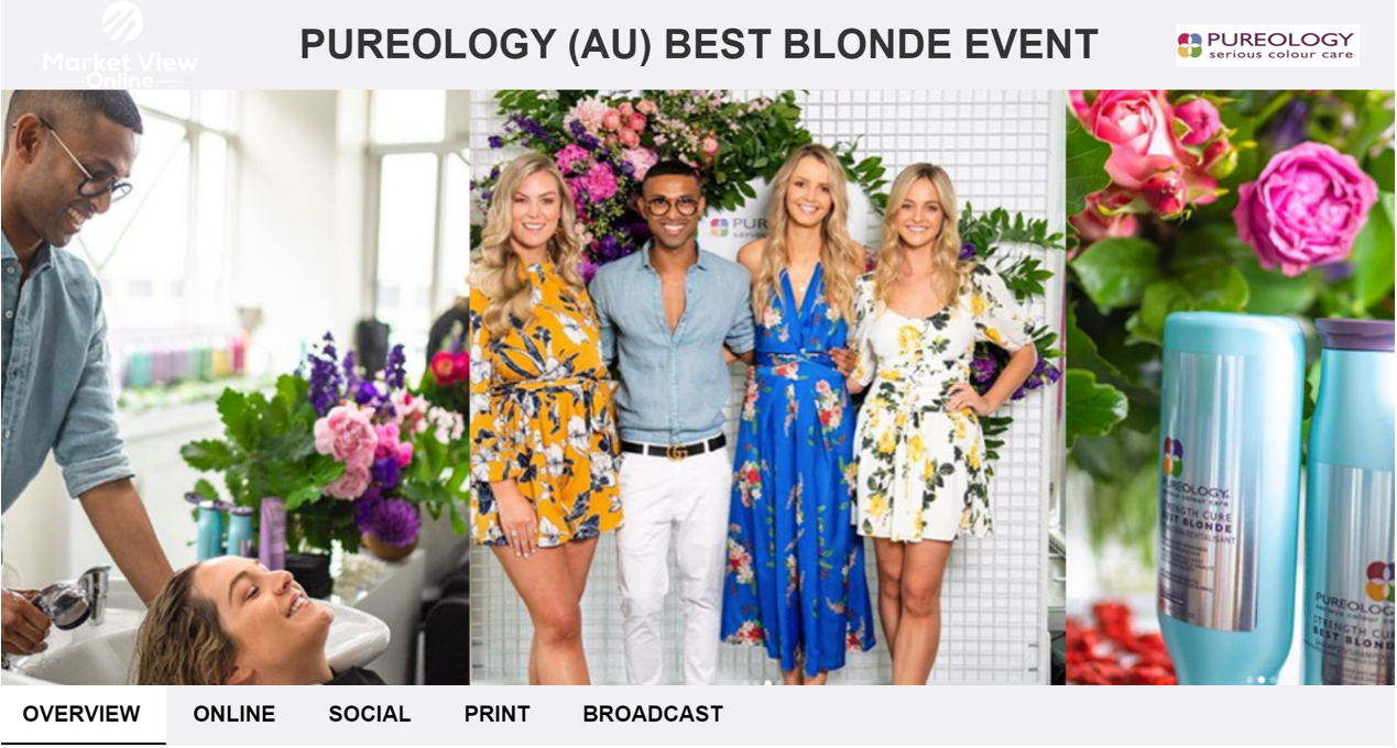 PUREOLOGY (AU) BEST BLONDE EVENT