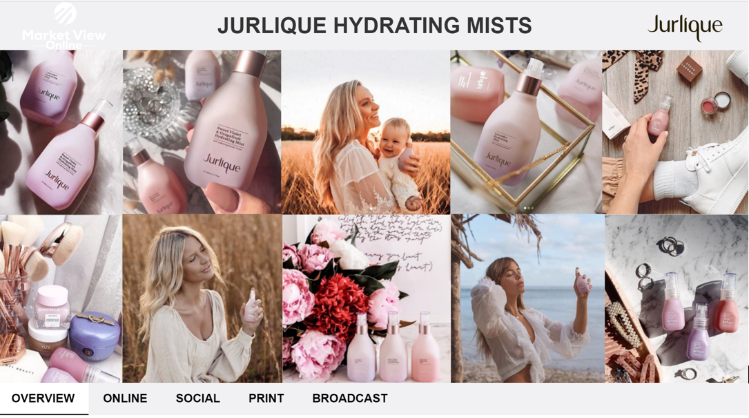 JURLIQUE HYDRATING MISTS