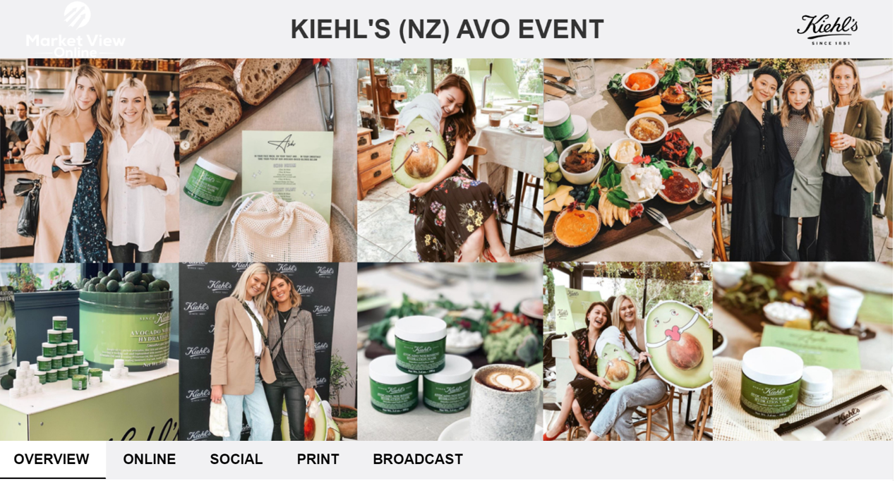 KIEHL'S (NZ) AVO EVENT